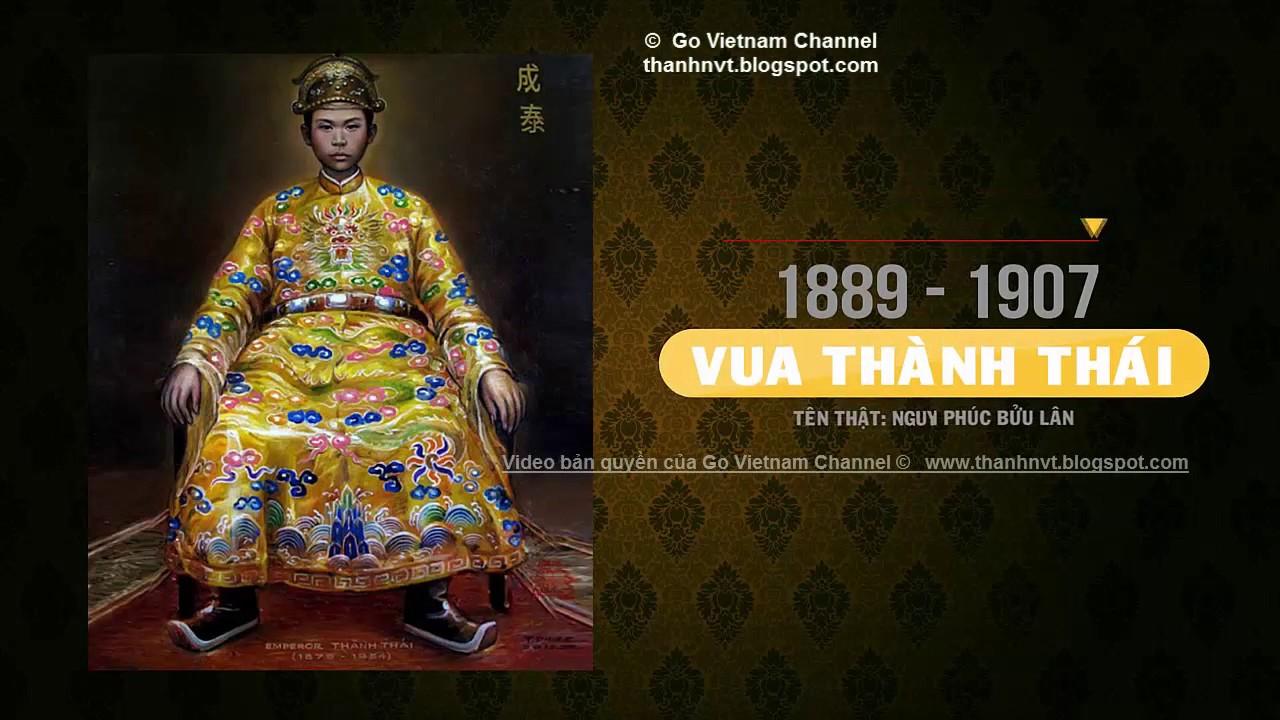 Các vị vua triều Nguyễn - Sơ lược tiểu sử