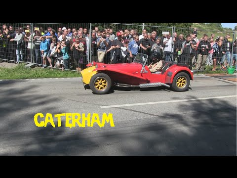 Caterham Streetracing at Legal streetrace in Kalundborg