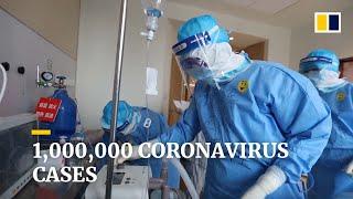 Number of coronavirus cases worldwide exceeds 1,000,000