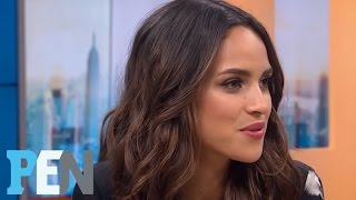 Adria Arjona On Her Bilingual Role In 'Emerald City' | PEN | Entertainment Weekly streaming