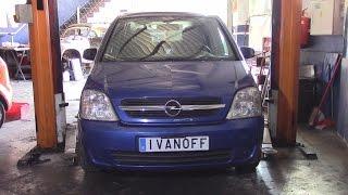 Opel Meriva 2005 1.7DTI  Замена генератора.