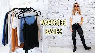 12 CLOSET BASICS YOU NEED FOR AN EPIC WARDROBE ☆