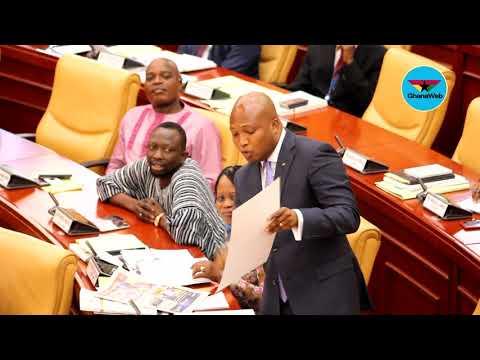 Okudzeto stuns parliament with visual evidence of 'failed Free SHS'