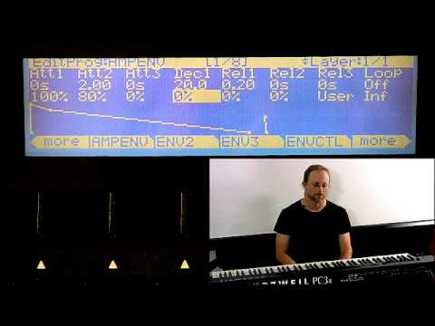 7 Kurzweil PC3 Series: Program Mode Editor (Part 5)