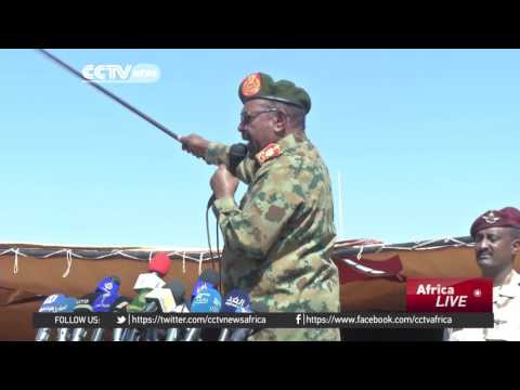 Sudan army conducts large-scale military drills to boost soldiers' skills