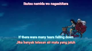 Inuyasha Ending 4 - Every Heart (sub Romaji+English+Indonesia lyrics)