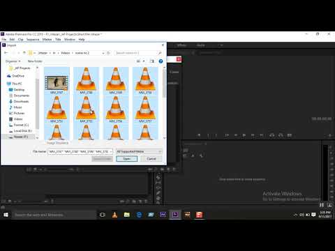 Adobe Premier Basic editing a short Film Tutor Naseer Rind Video Part 2