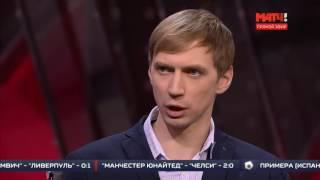 Андрей Сильнов и Андрей Крупорушников в эфире Матч ТВ
