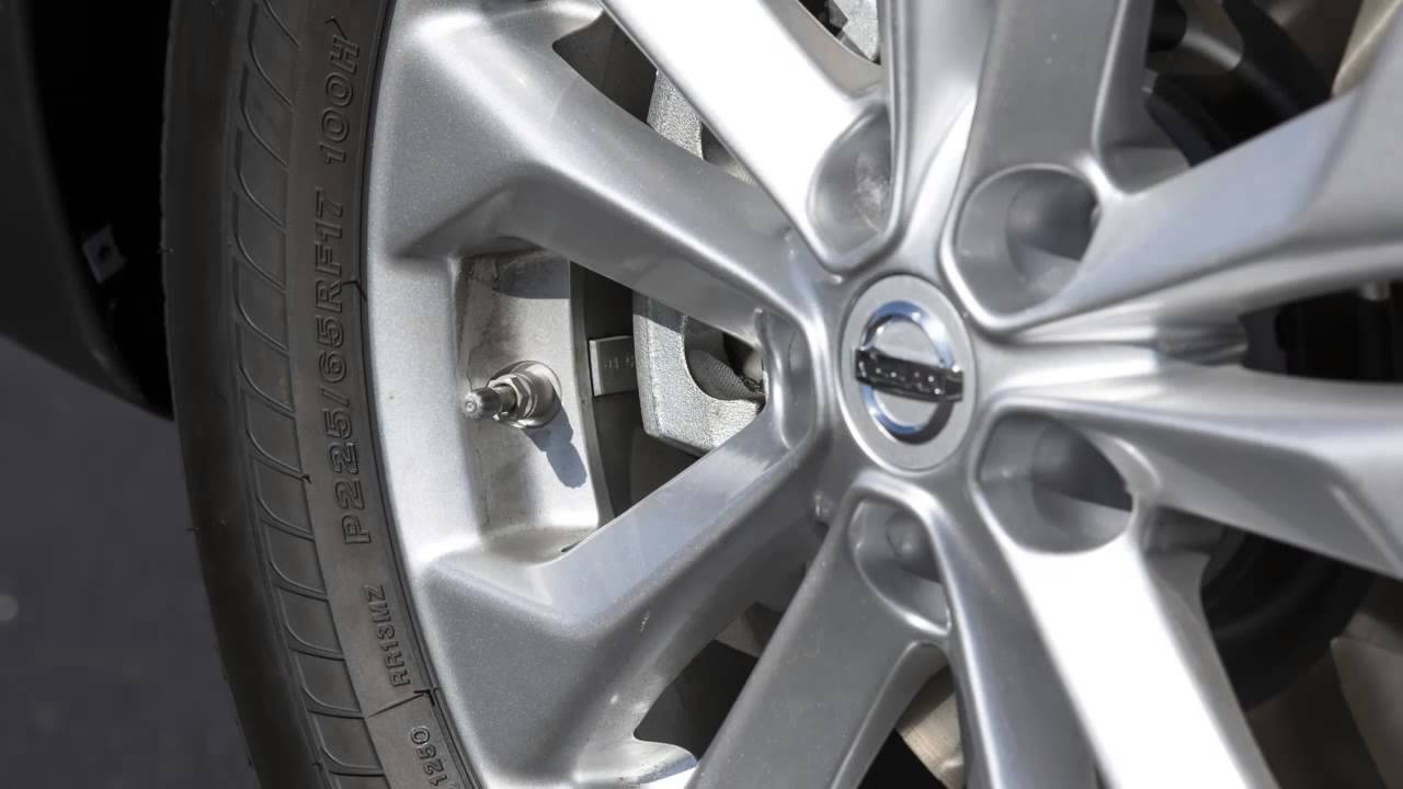2014 Nissan Rogue Tire Pressure Monitoring System Tpms With Easy