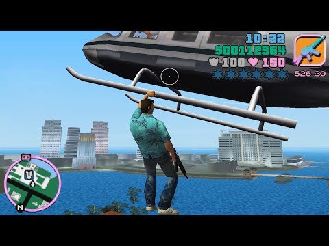 HELICOPTER GRAB MOD! - GTA Vice City Best Mods 6