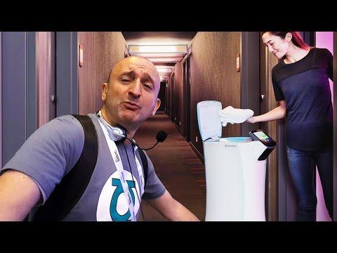 """UN ROBOT SPÉCIAL """"ROOM SERVICE"""" ! - Viva Tech Paris"""