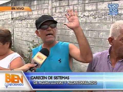 GAD Guayaquil - Moradores del sector Coop. Santiago Roldós piden atención
