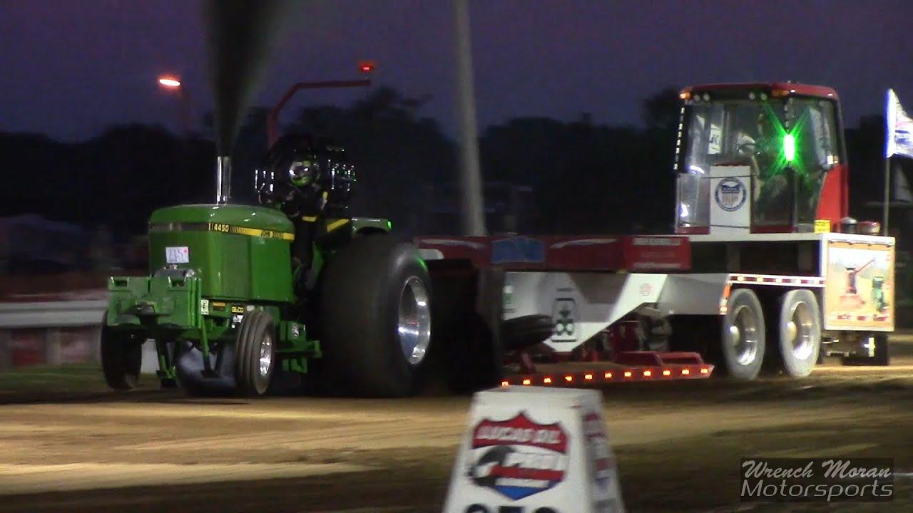 John Deere Super Stock Pulling Tractors : Super stock tractor pulling burnin money john deere youtube