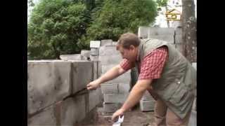 Строительство дома из пенобетона.(, 2013-05-06T05:48:07.000Z)