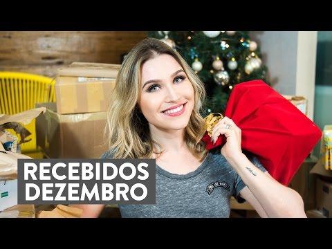 RECEBIDOS de Natal! | Lu Ferreira