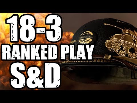 CoD WW2 - Ranked Play Search and Destroy Destruction!! (CoD WW2 Ranked Play Gameplay)