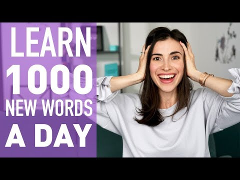 HOW TO LEARN 100+ ENGLISH WORDS A DAY. ENGLISH VOCABULARY.