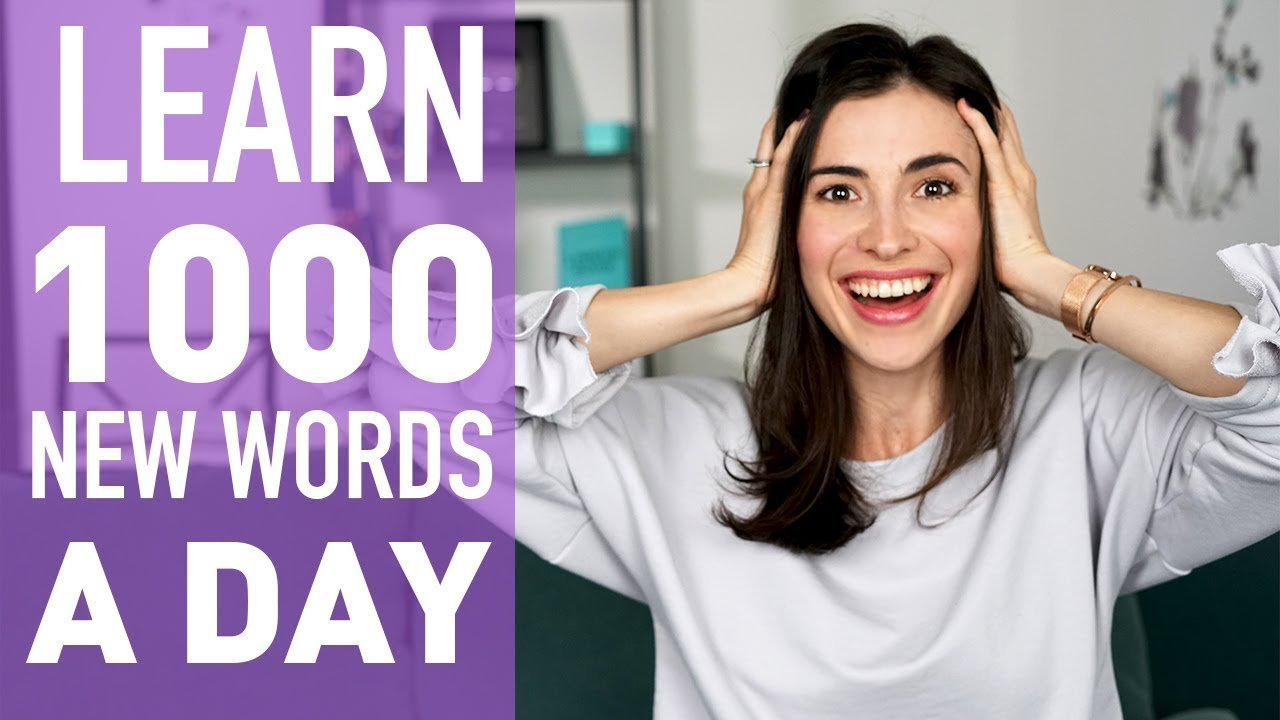 HOW TO LEARN 100+ ENGLISH WORDS A DAY  ENGLISH VOCABULARY