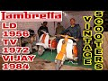 OLD LAMBRETTA SCOOTERS | LD 1956 TV SERIES VIJAY DELUX SUPER | SCOOTER HISTORY | ENGINEER SINGH