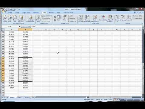 How to Construct a Histogram in Excel 2007