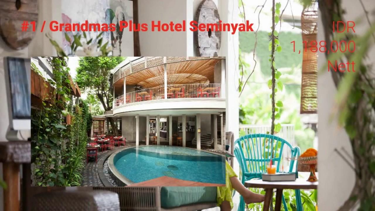 Top hotel in seminyak grandmas plus hotel seminyak youtube for Best hotels in seminyak