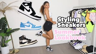 Styling Sneakers in the Summer! Cute Summer Outfits | jasmeannnn