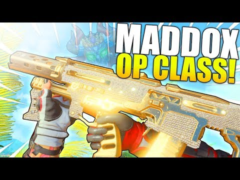 THE OVERPOWERED MADDOX CANT BE STOPPED..! (BO4 BEST CLASS) - Black Ops 4 Gameplay