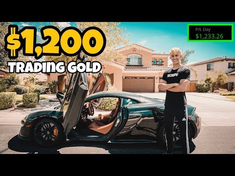 I Made $1,200 Swing Trading 1 Day | Step By Step