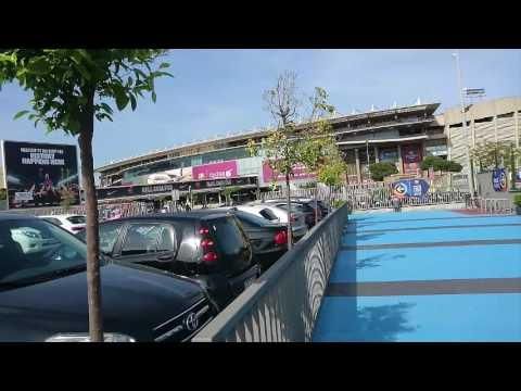 CAMP NOU BARCELONA 2017 parte exterior outside