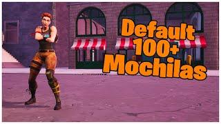 SHOWING THE DEFAULT SKIN & 100 + BACKPACKS | FORTNITE