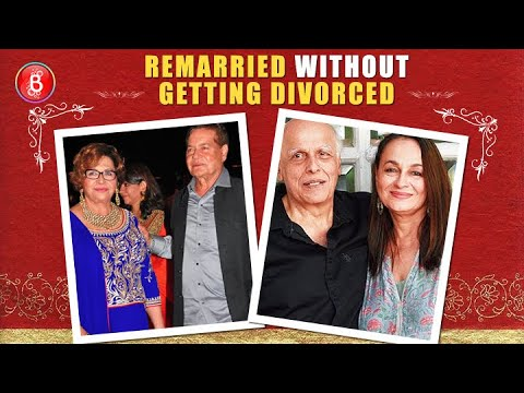 Bollywood Actors Who Remarried Without Getting Divorced Youtube