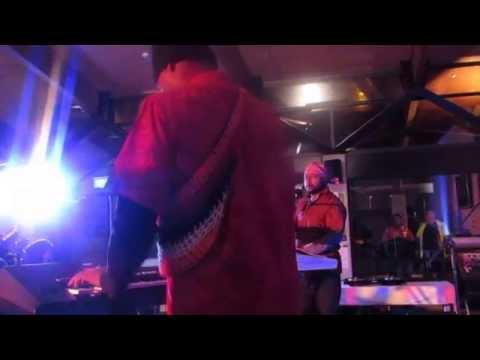 Potts performing Auna Fonsa-PNG 39 indy celebr...at Lincoln Uni