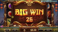 Legend of the Golden Monkey Slots Bonus and Big Win, Play for real - Tutorial Slots