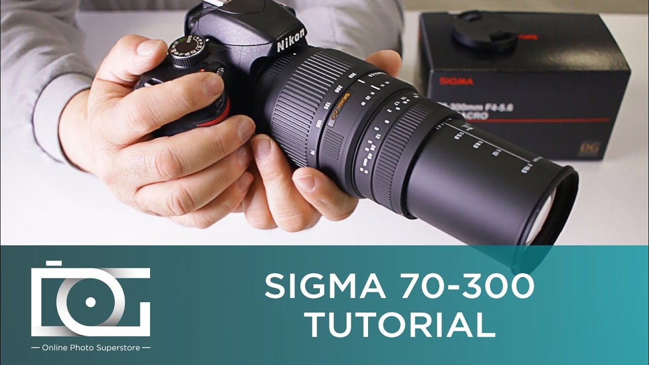 SIGMA 70-300 TUTORIAL | Get Blurry Photos at 300mm & Get Clear Photos Up To  200mm | Crop Sensor