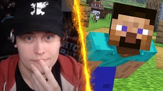 MY LIVE REACTION TO MINECRAFT STEVE IN SMASH BROS ULTIMATE! MINECRAFT IN SMASH?! WHO IS ALEX?!