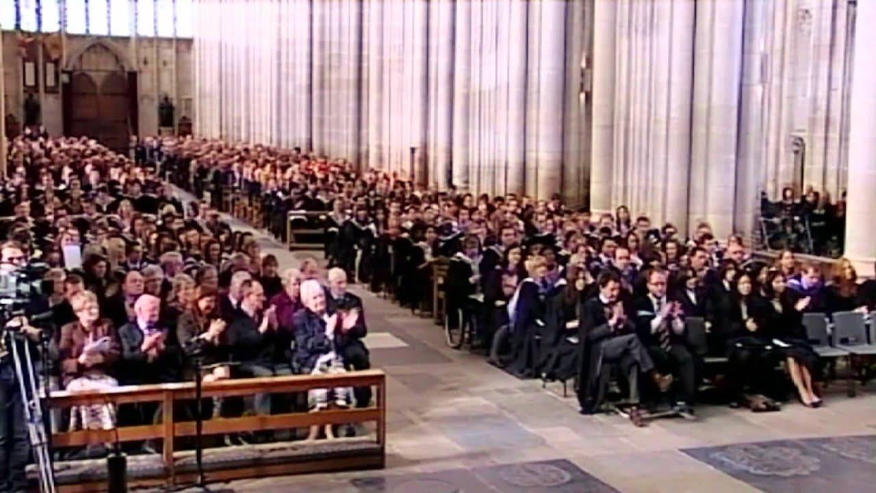 Graduation - University of Winchester - YouTube