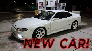 PICKING UP MY BOYFRIENDS NEW CAR // Nissan silvia s15 spec R