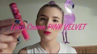 Lime Crime PINK VELVET Velvetines Lipstick Thumbnail