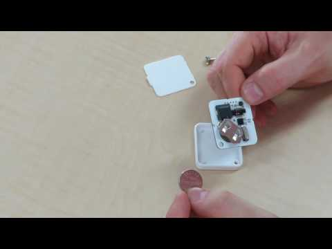 Wireless Temperature Logger - How To Replace The Battery And Reset