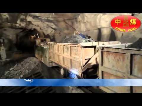 Locomotive And Side Dump Car