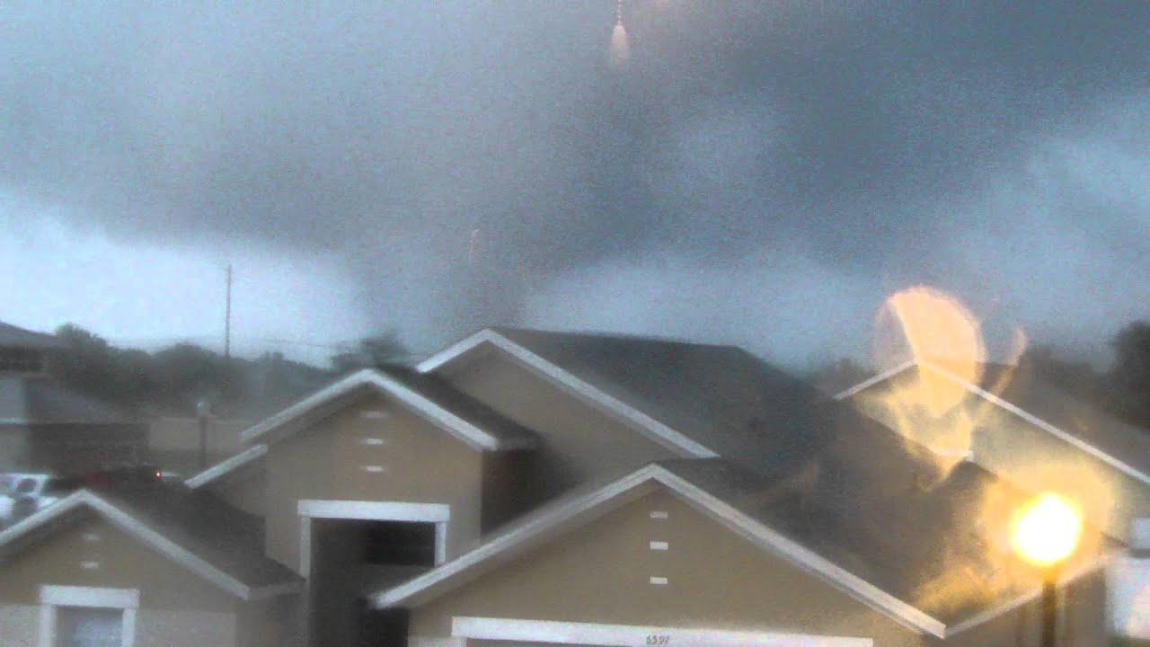 tornado on 6 24 2012 legoland area winter haven fl youtube