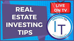 Real Estate Investing Tips | Title Insurance Tips | Investing In Real Estate