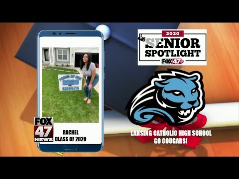 Senior Spotlight Lansing Catholic High School - Rachel