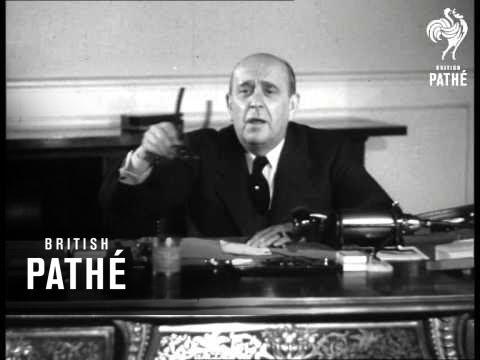 Jan Masaryk Talks About U.S.A. (1947)