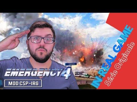 CSP-IRG - INCENDIE FEUX ARTIFICE - Série Originale - (Emergency 4 / 911 First Responder)