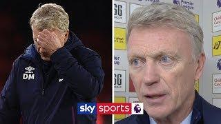 David Moyes praises West Ham performance despite defeat | Post Match
