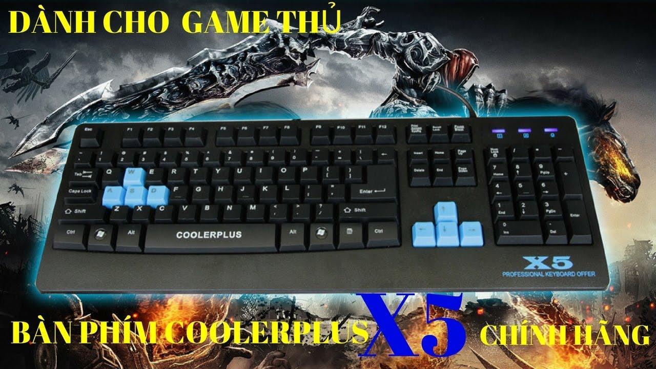Bàn phím coolerplus x5 | Phím Coolerplus X5 | Coolerplus X5