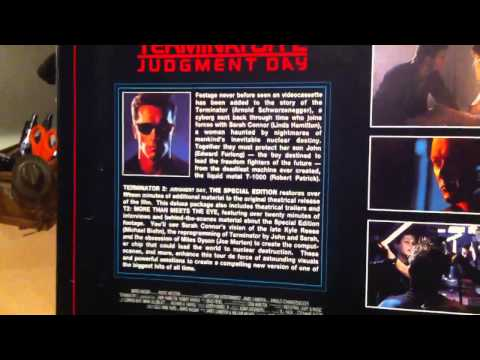 Terminator 2 Special Edition VHS