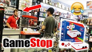 Selling Gamestop A Fake Game System!!