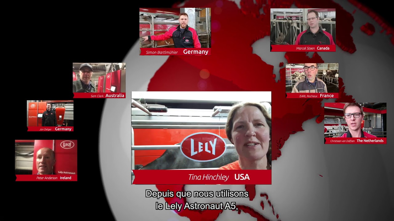Lely Astronaut A5 – 1 an d'expérience – video 6 (FR)